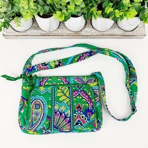 Vera Bradley Paisley Floral Shoulder Bag Purse